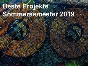 Beste Projekte SoSe 2019