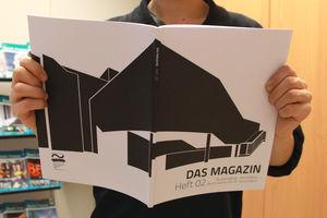 DAS MAGAZIN der Studiengänge Architektur (Foto: Gümpel)