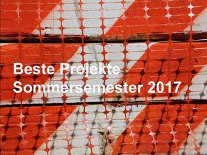 Beste Projekte SoSe 2017