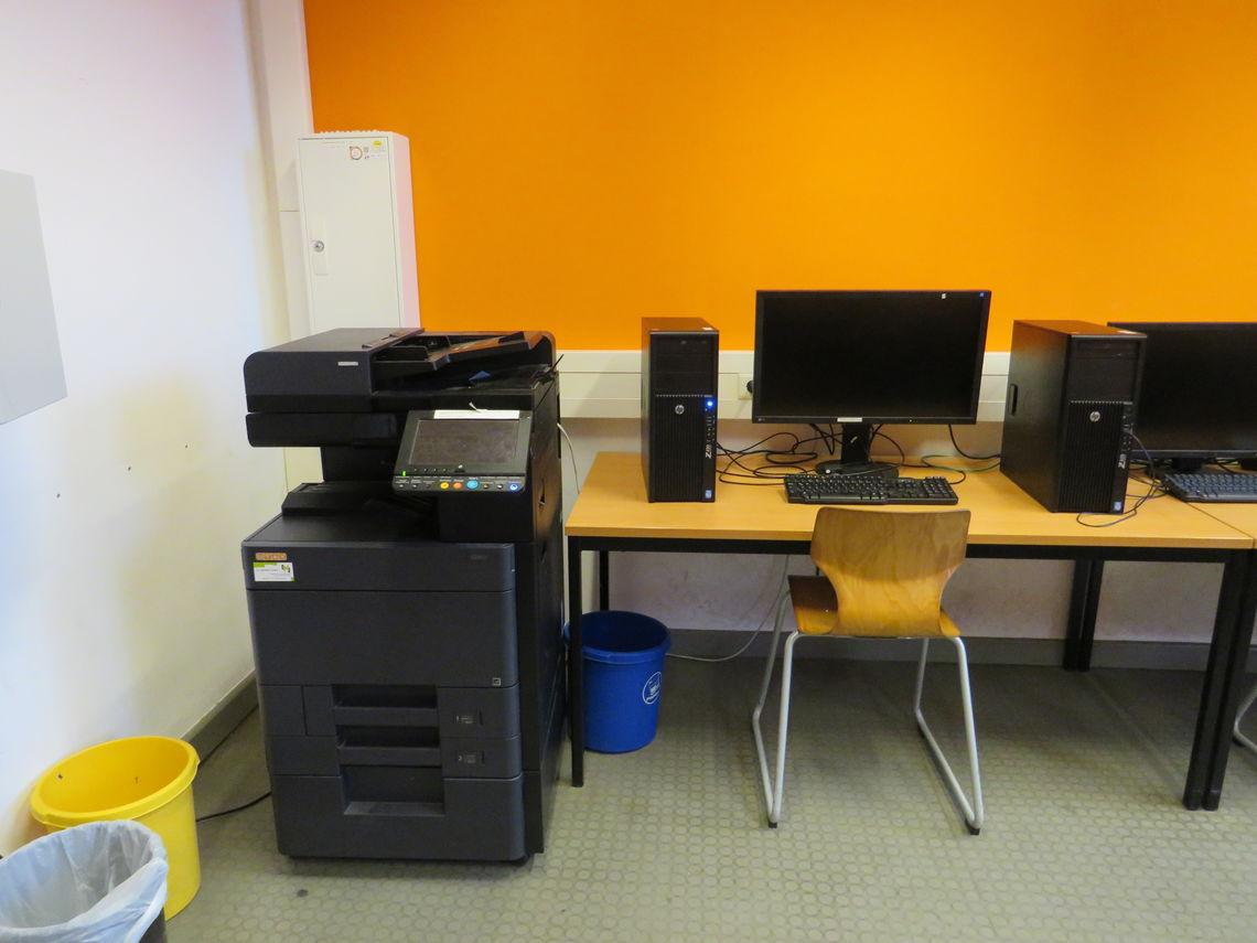 DIN A3-Drucker mit Scanner